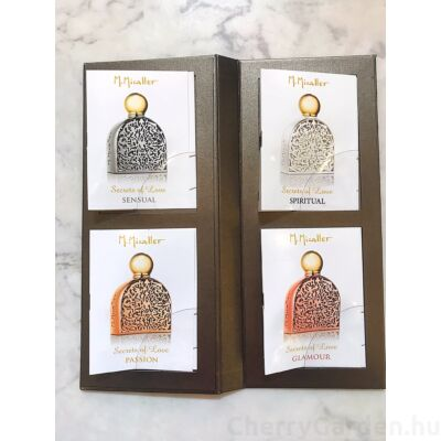M.Micallef Discovery Booklet with Secret of Love Collection - Unisex